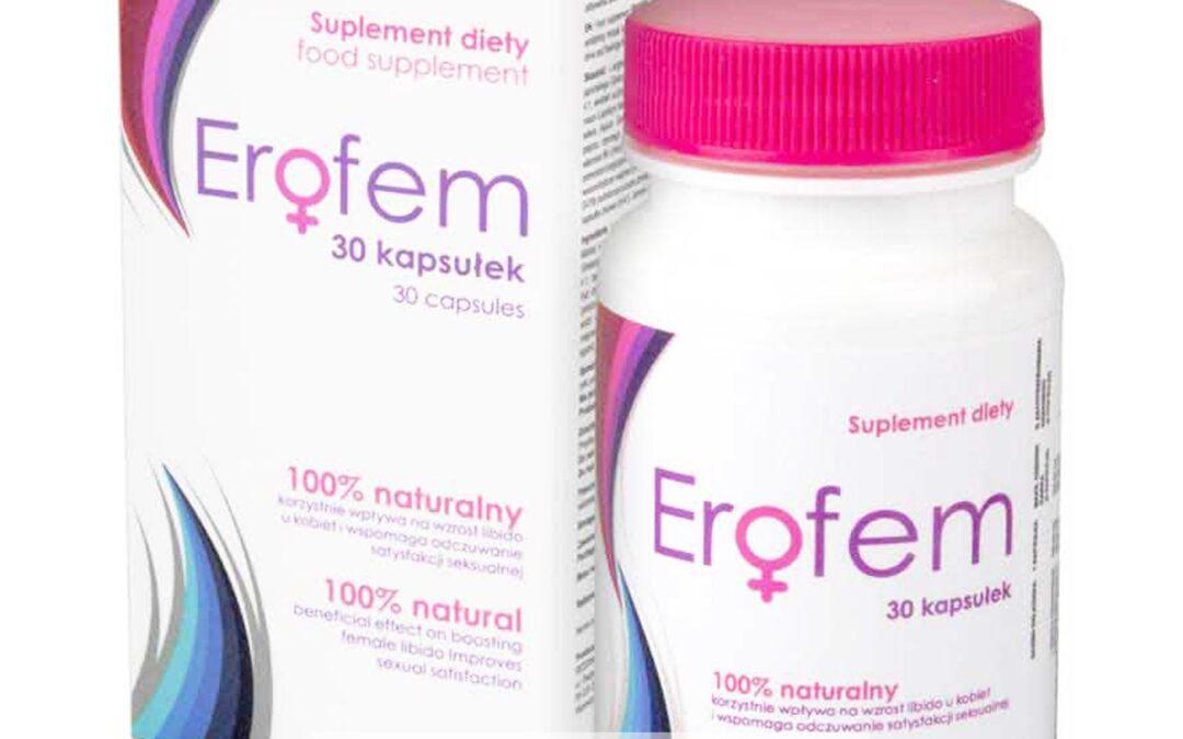 Erofem – tabletki na libido u kobiet