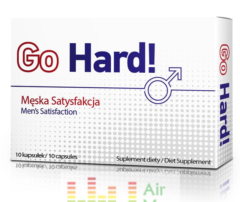 GoHard! – tabletki na erekcję