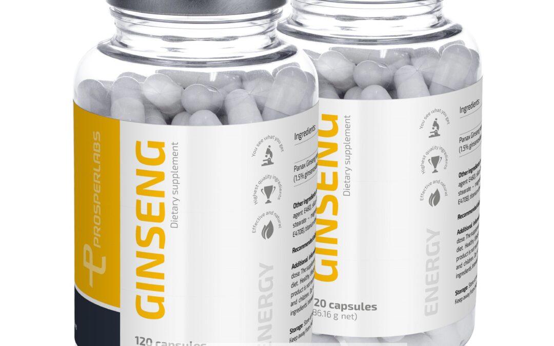Korean Ginseng Prosper Labs – tabletki na potencję